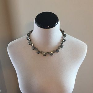 Jeweled collar necklace